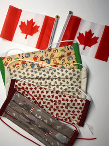 Oh Canada!  Collection Reusable Face Mask - Adult size