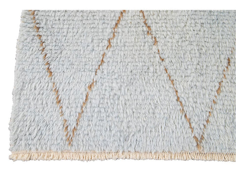 21st Century Modern Moroccan-Style Wool Rug 10 X 12