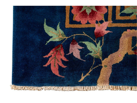 Antique Chinese Art Deco Wool Rug 9 X 11