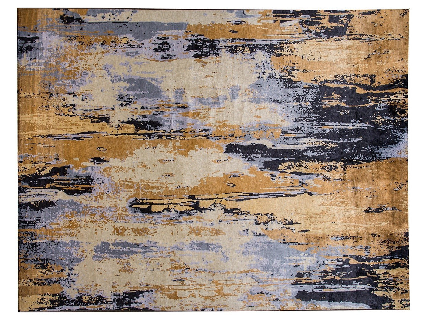 21st Century Large Modern Contemporary Rug 13 X 17