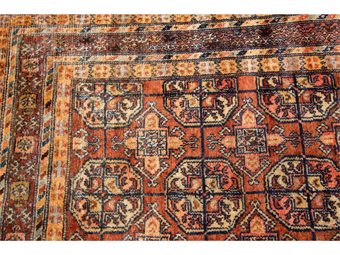 Antique Malayer Rug, 4X13