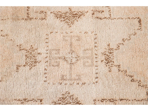 Early 20th Century Vintage Turkish Wool Runner Rug, 3 X 11