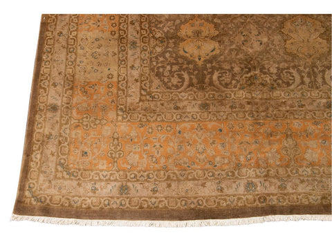 Early 20th Century Antique Indian Wool Rug 10 X 14