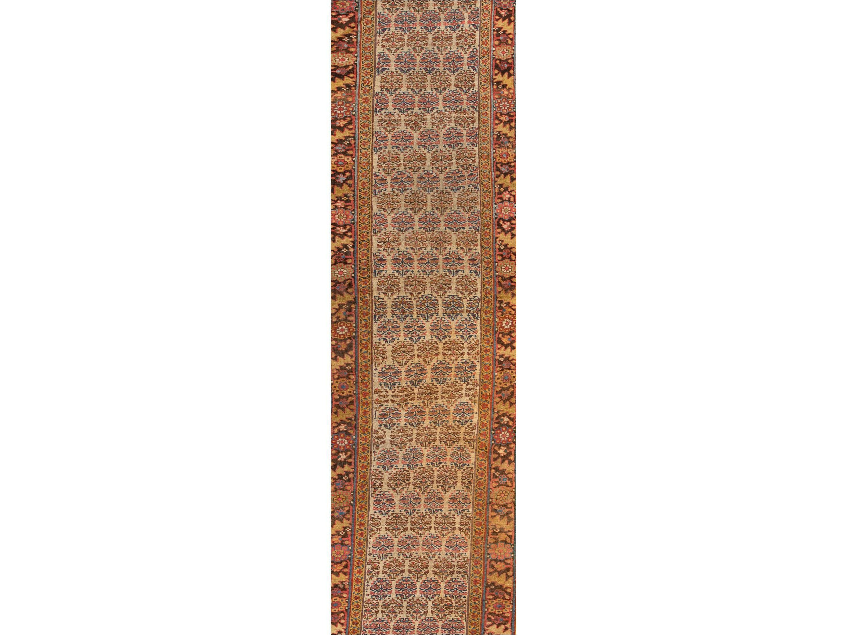 Antique Bidjar Wool Rug, 3 X 13