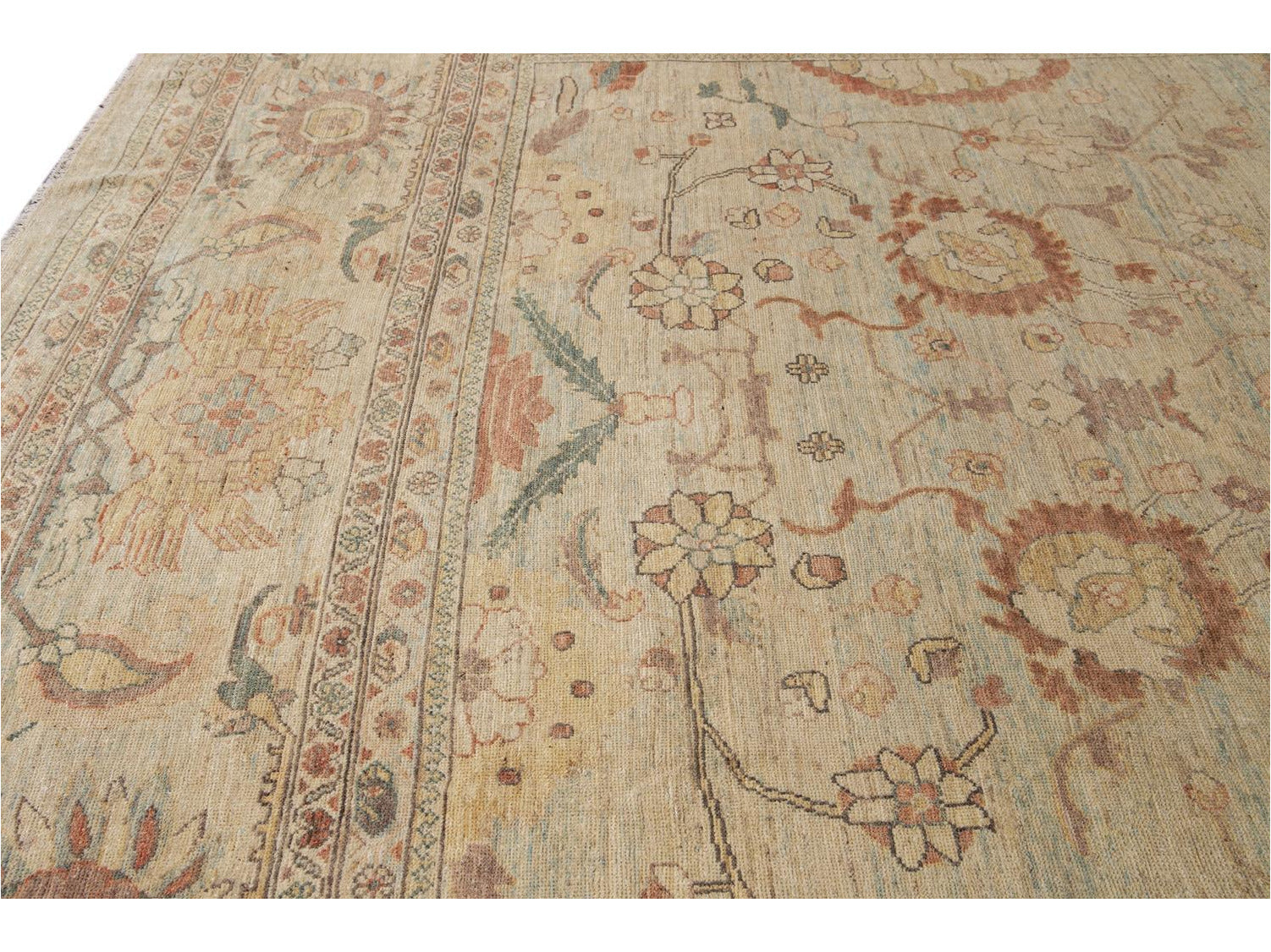 21st Century Contemporary Sultanabad Oversize Wool Rug 14 X 21