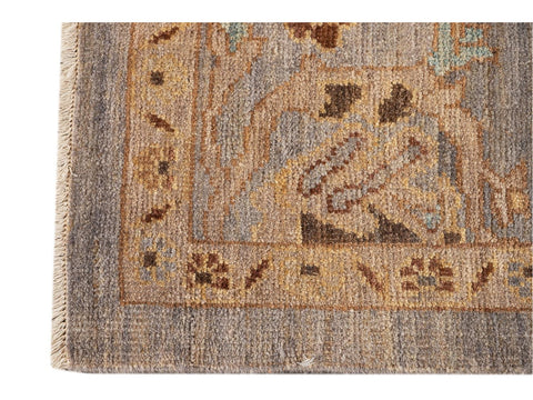 Modern Square Sultanabad Wool Rug 6 X 6