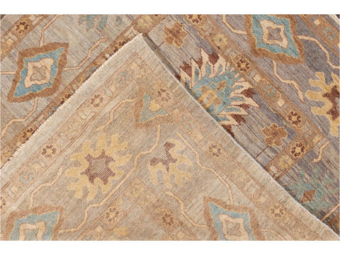 21st Century Modern Square Sultanabad Rug 6 X 7
