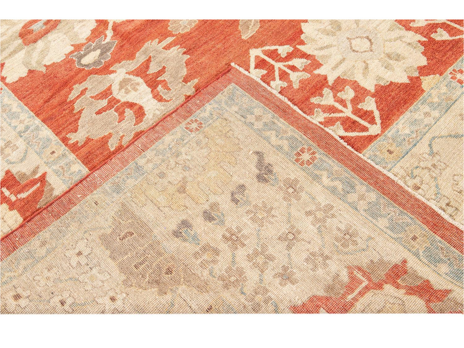 Modern Oversize Sultanabad Wool Rug 12 X 15