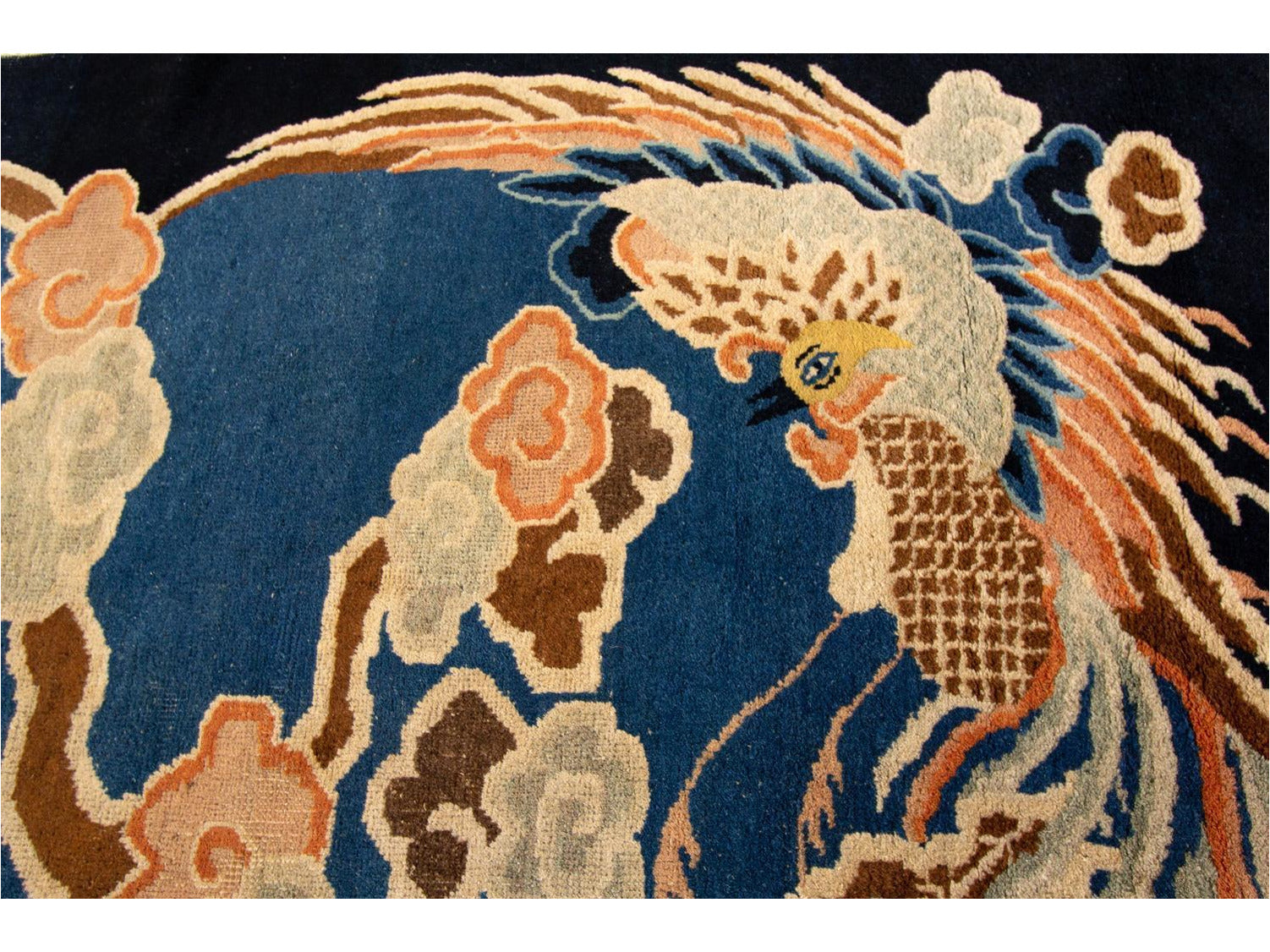 Chinese Peking Art Deco Rug, 7X9