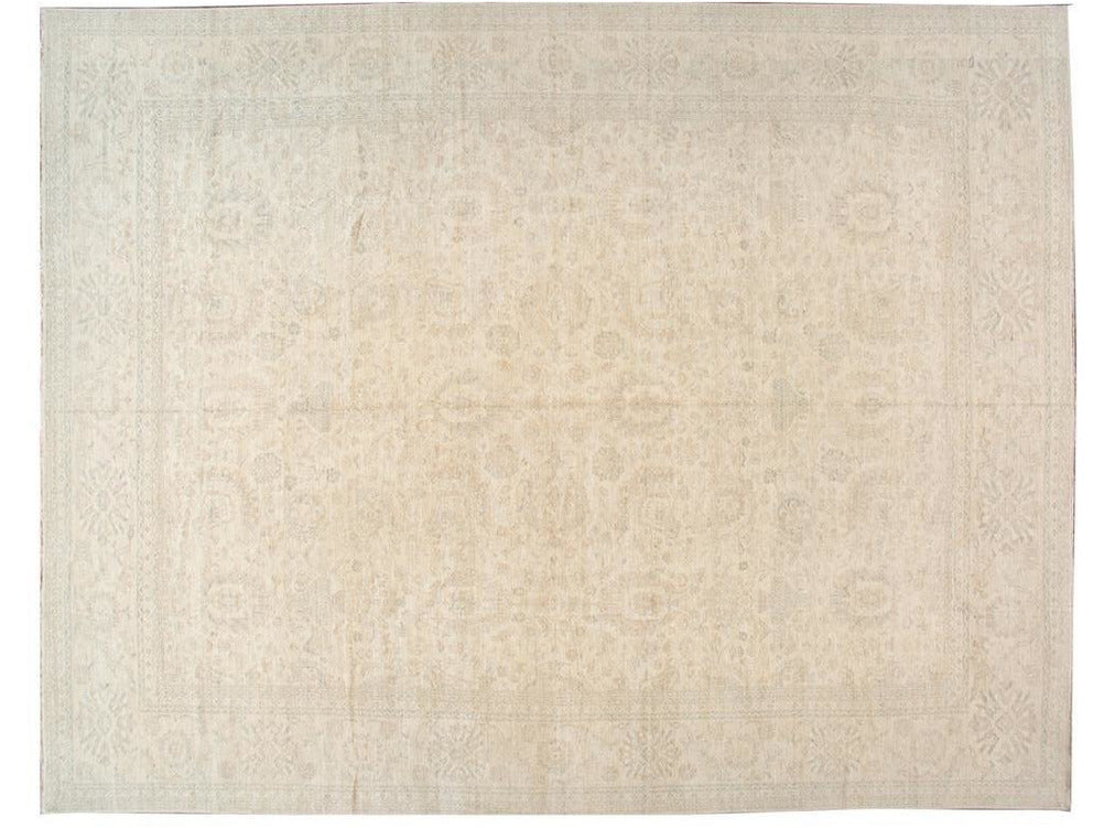 Modern Indian Khotan Wool Rug 18 X 22
