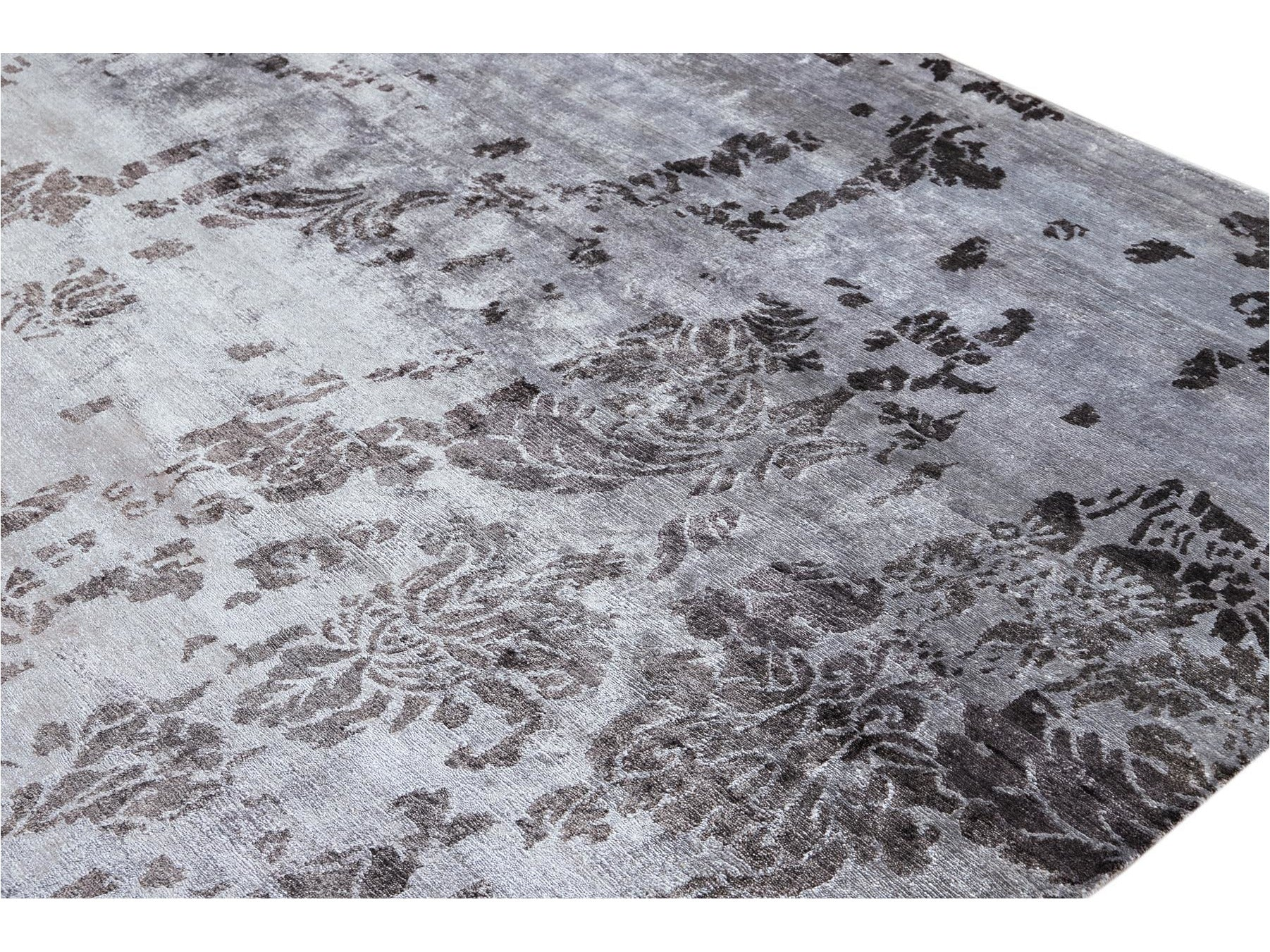 21st Century Modern Indian Silk Rug