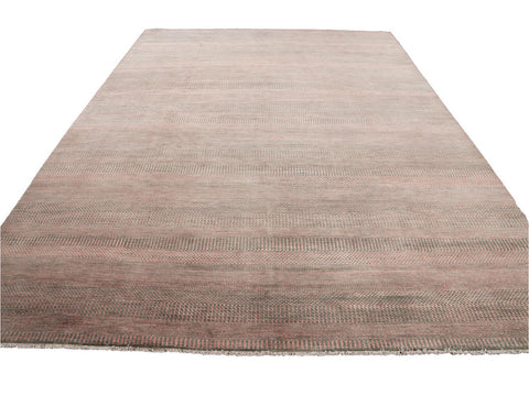 21st Century Contemporary Savannah Wool Rug 9 X 12