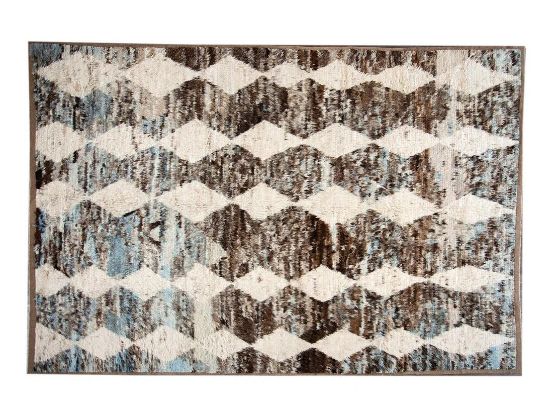 21st Century Modern Moroccan Style Oversize Wool Rug