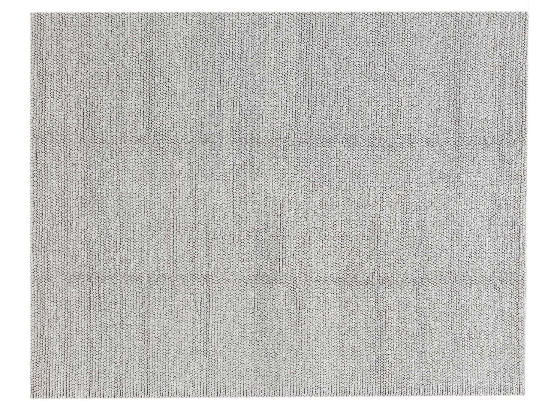21st Century Contemporary Textured Wool Rug, 8' X 10'
