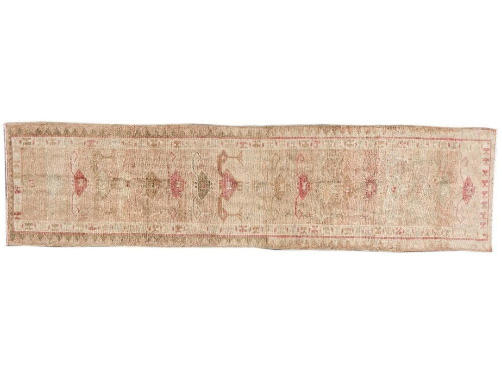 Early 20th Century  Anatolian Village Runner Rug, 3 X 11