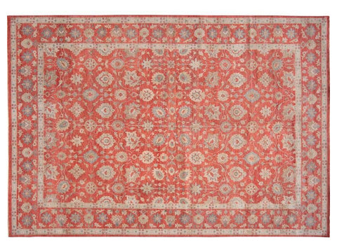 21st Century Modern Indian Wool Rug 10 X 14