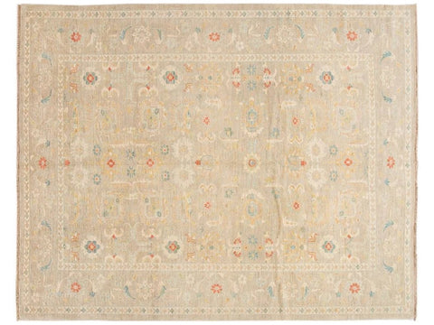 21st Century Contemporary Sultanabad Wool Rug 10 X 12