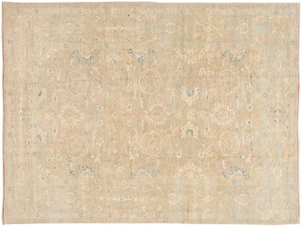 Contemporary Sultanabad Wool Rug 8 X 11