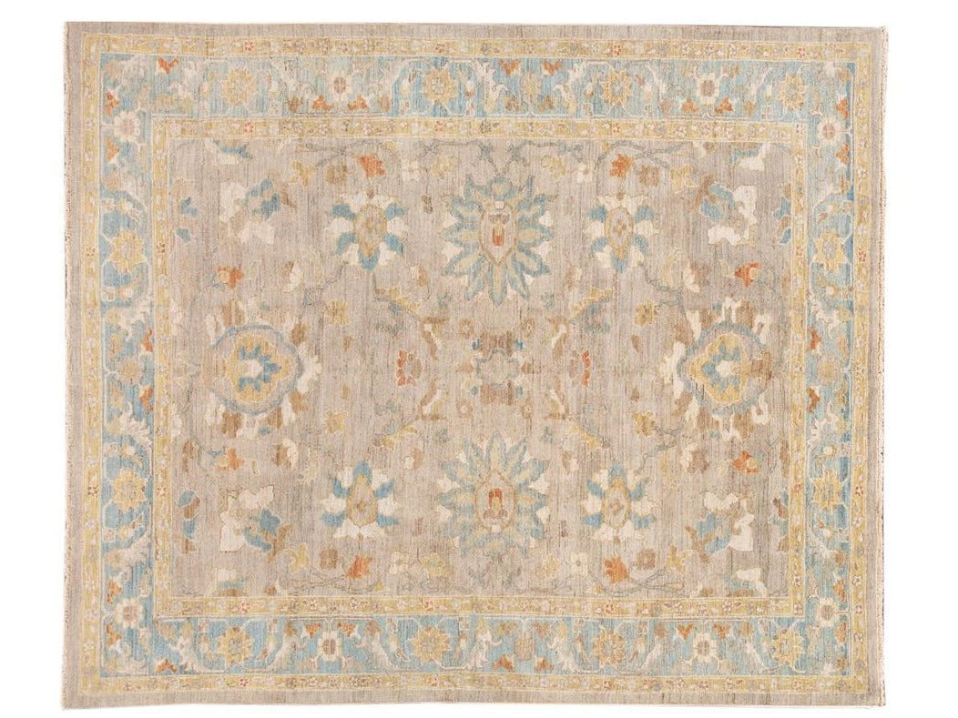 Contemporary Sultanabad Wool Rug 9 X 10