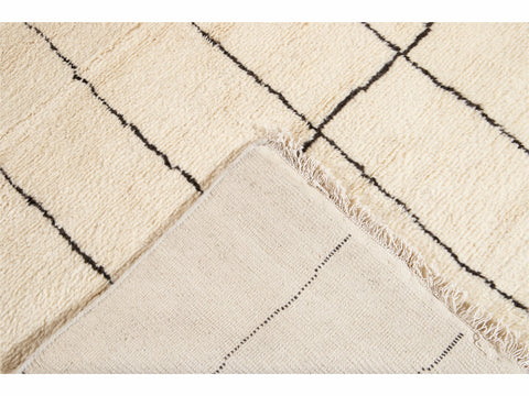 21st Century Modern Moroccan Style Wool Rug 10' x 14'
