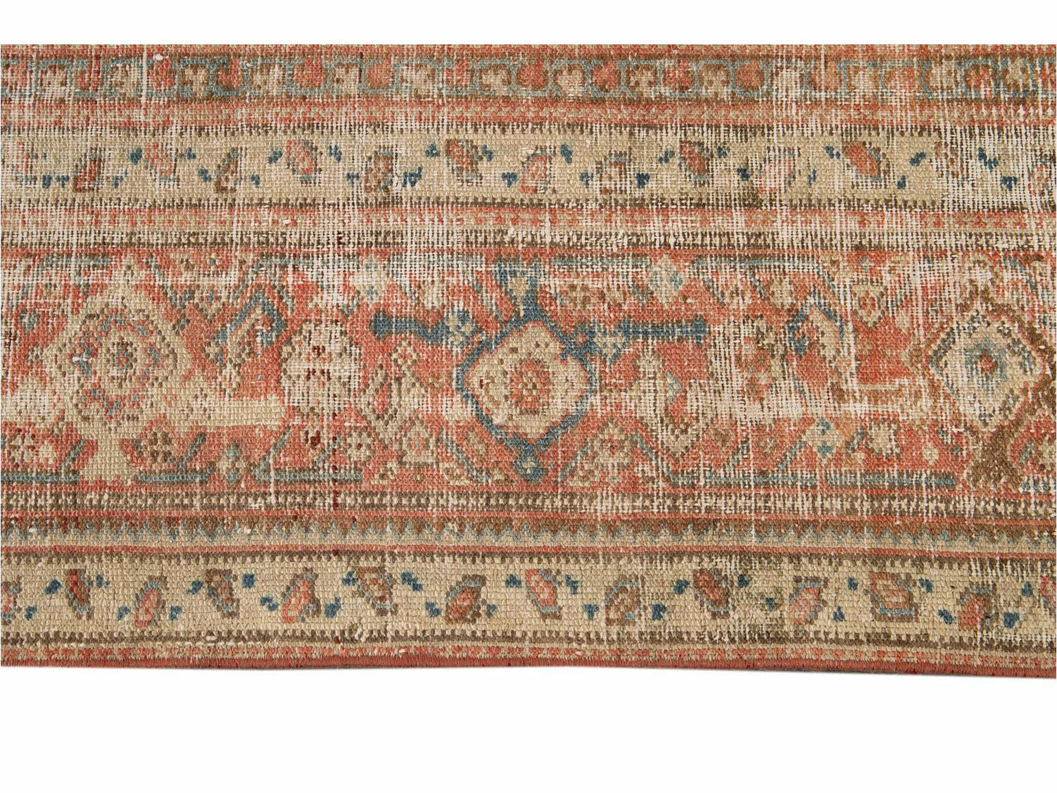 Vintage Malayer Runner Wool Runner 7 X 18