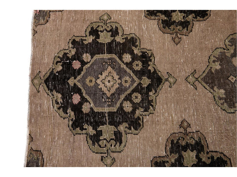 Early 20th Century Vintage Turkish Wool Runner Rug, 3 X 13