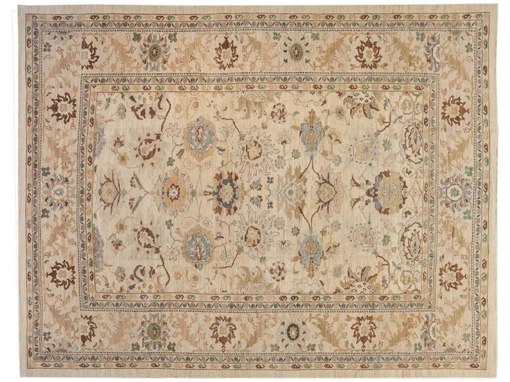 Modern Sultanabad Oversize Wool Rug 12 X 16