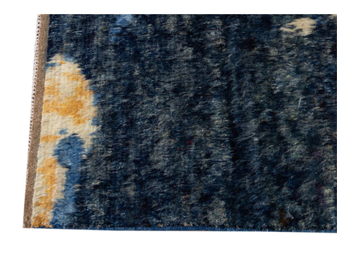 21st Century Modern Moroccan Style Wool Rug, 7' x 10'