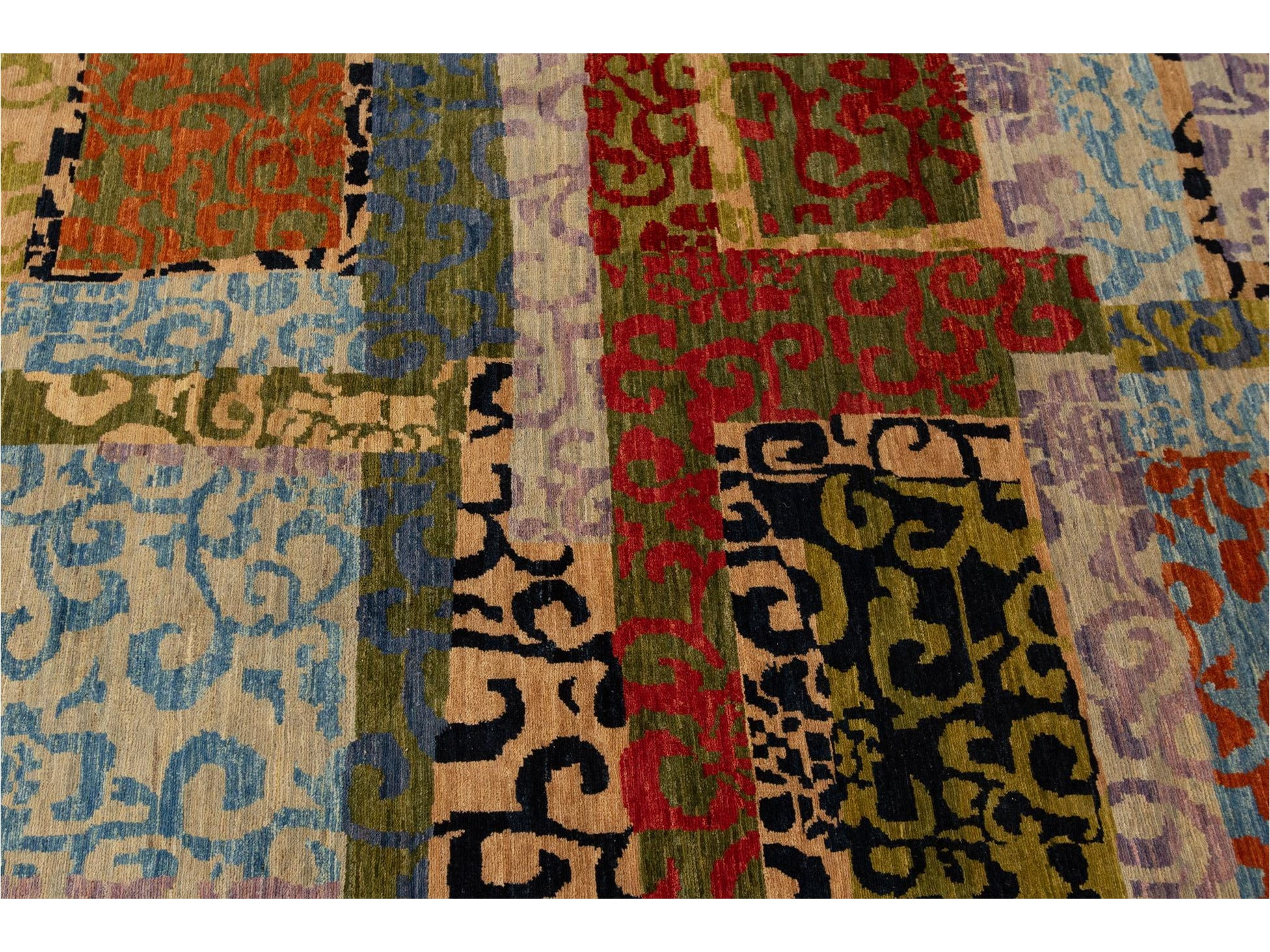 21st Century Modern Transitional Wool Rug