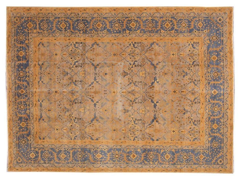 New Contemporary Modern Armenian Wool Rug 9 x 12