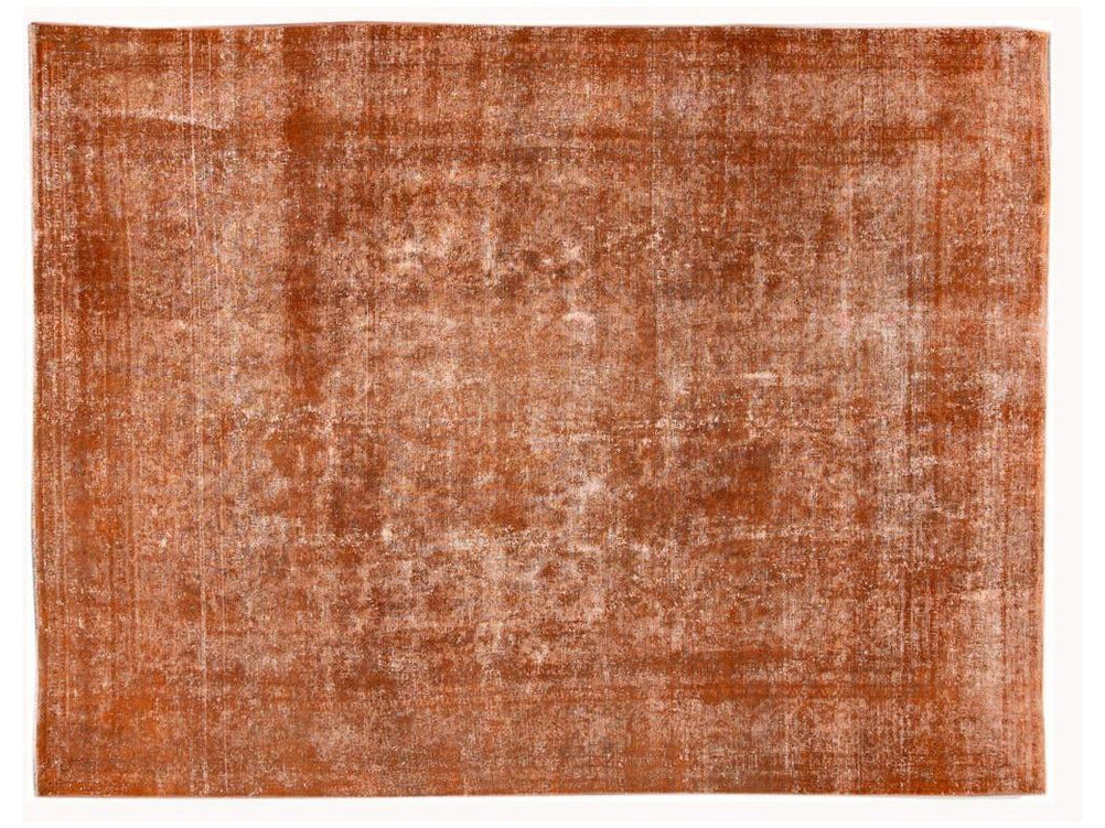 Vintage OverDyed Room Size Wool Rug 9 X 12
