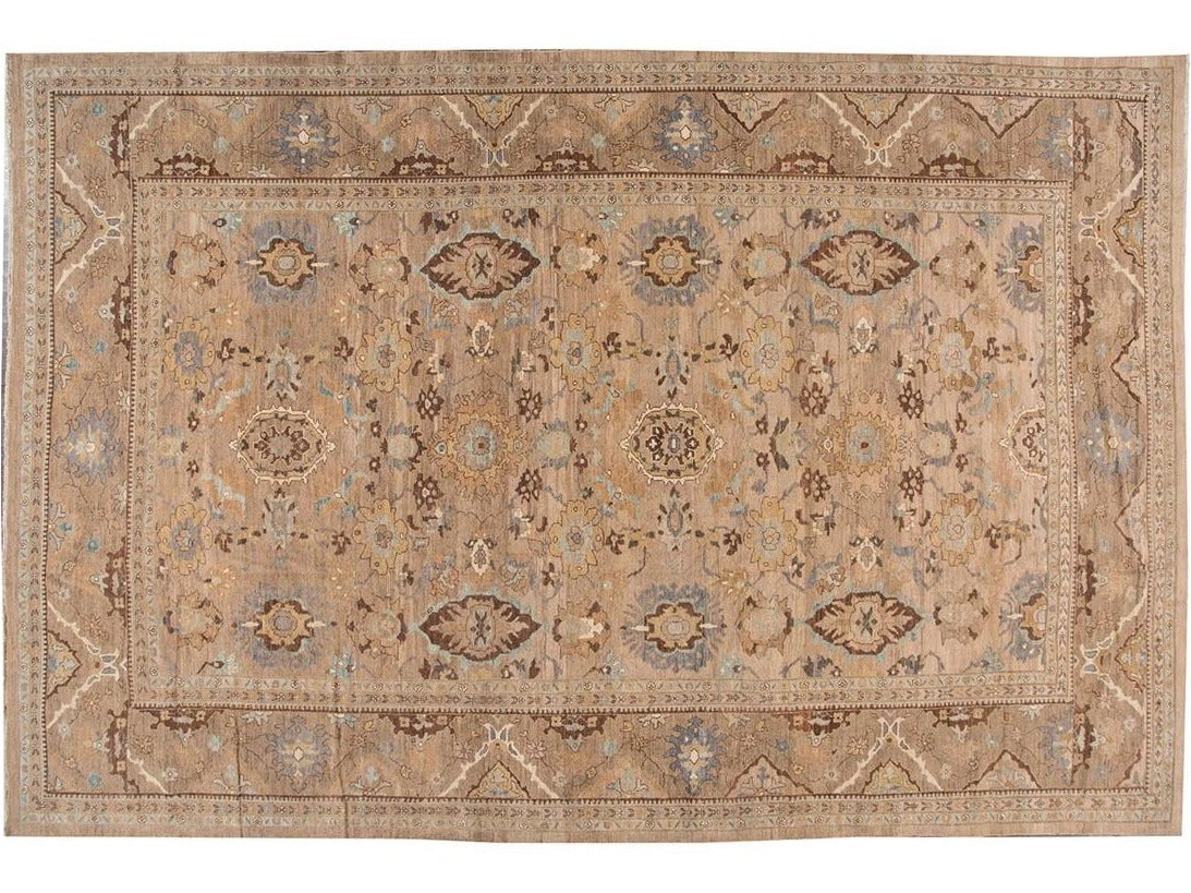 21st Century Contemporary Sultanabad Wool Rug 13 X 19