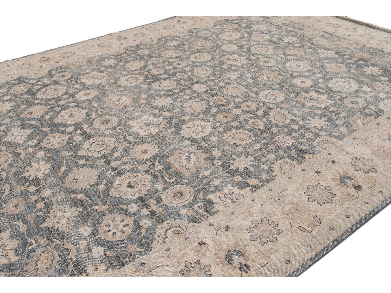 21st Century Contemporary Tabriz Style Wool Rug 10 X 14