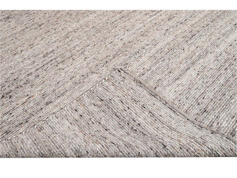 Modern Felted Texture Wool Rug 10' x 14'