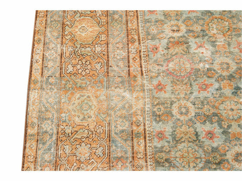Early 20th Century Antique Mahal Oversize Wool Rug 13 X 16