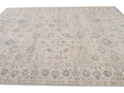 21st Century Modern Indian Wool Rug 8 X 10