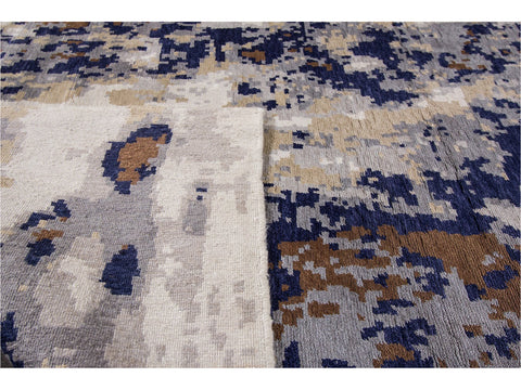 21st Century Large Modern Contemporary Rug 12 X 15