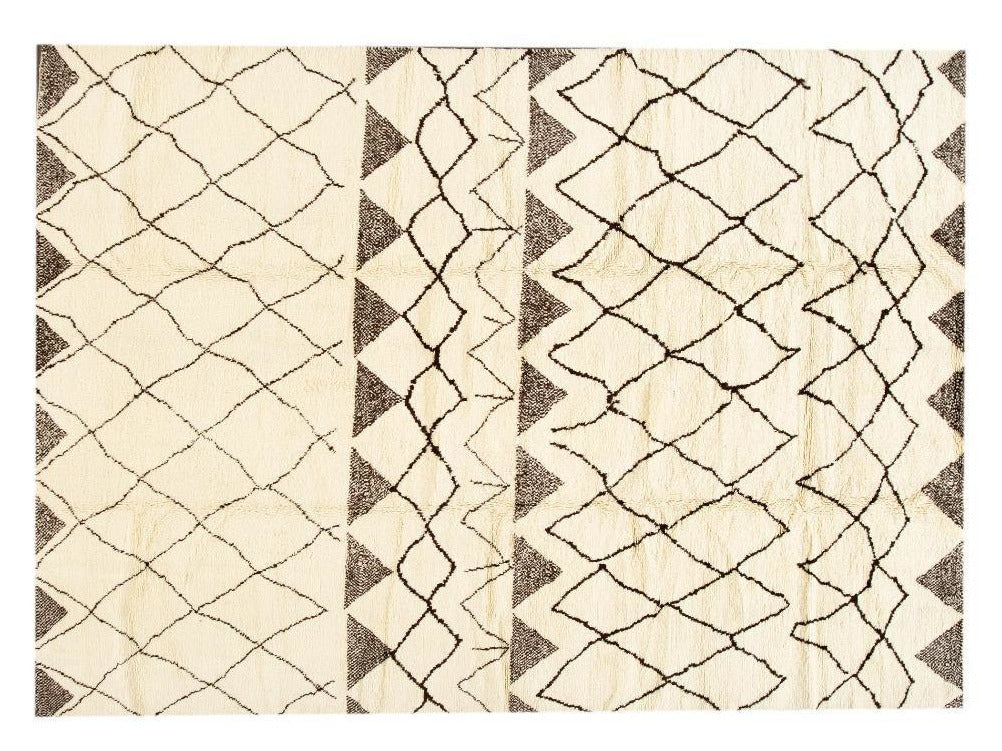 21st Century Modern Moroccan Style Rug 10 X 14