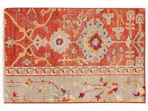 Wilton Collection Handwoven Wool Customized Modern Rug