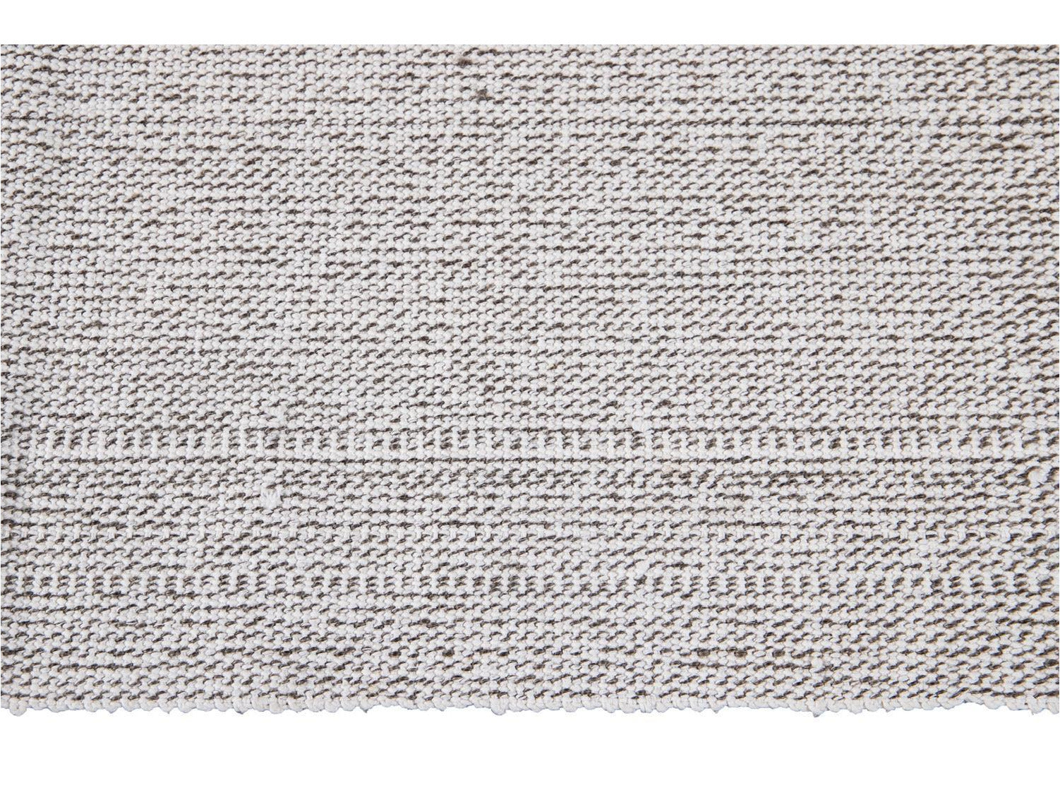 Contemporary Flatweave Wool Rug 7 X 9