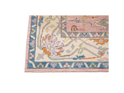 New Contemporary Oushak Style Wool Rug 9 X 12