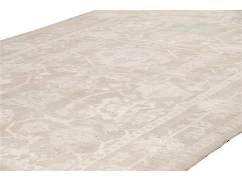 Contemporary Sultanabad Wool Rug 10 X 14