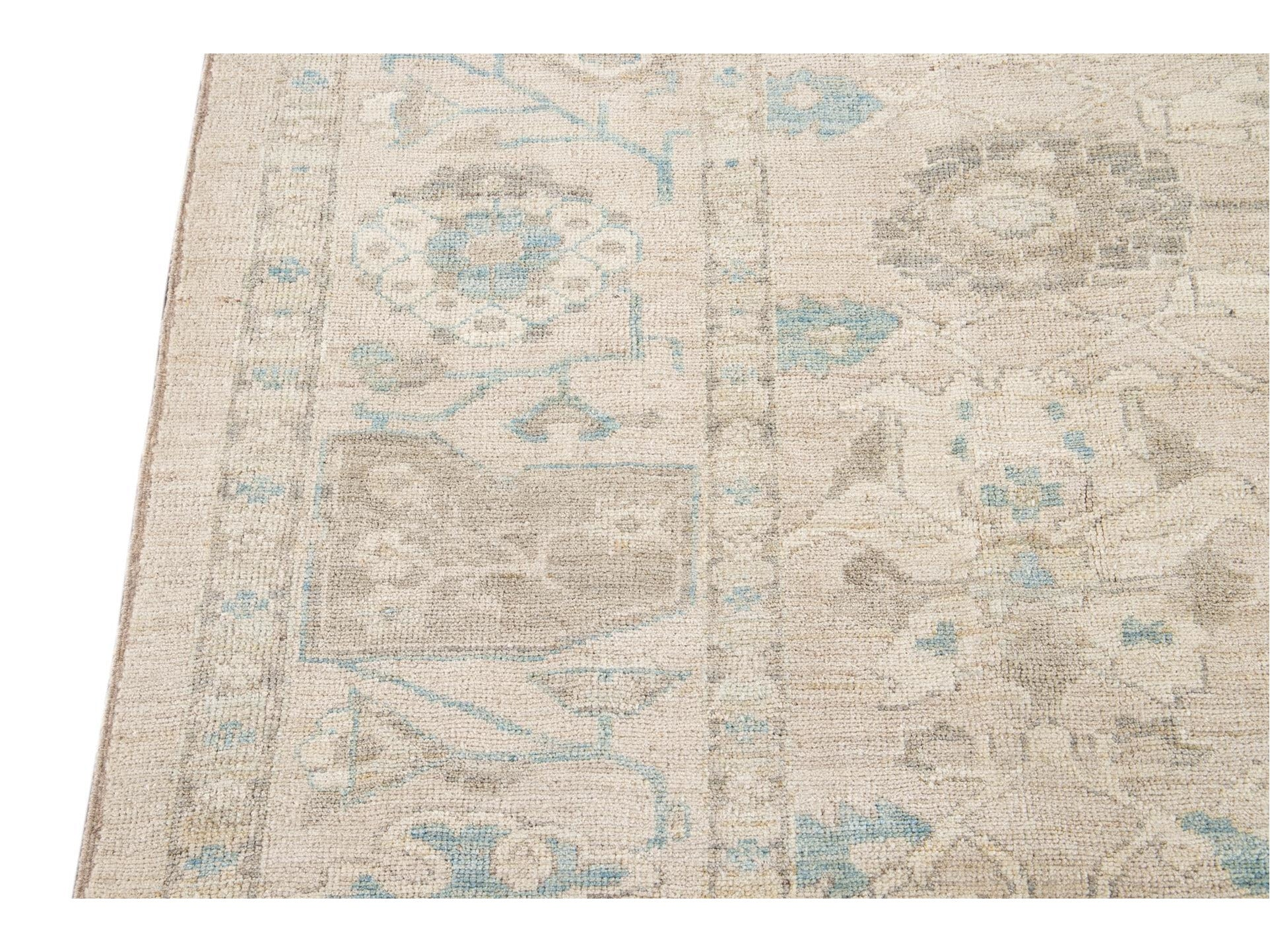 21st Century Modern Sultanabad Wool Square Rug 10 X 11