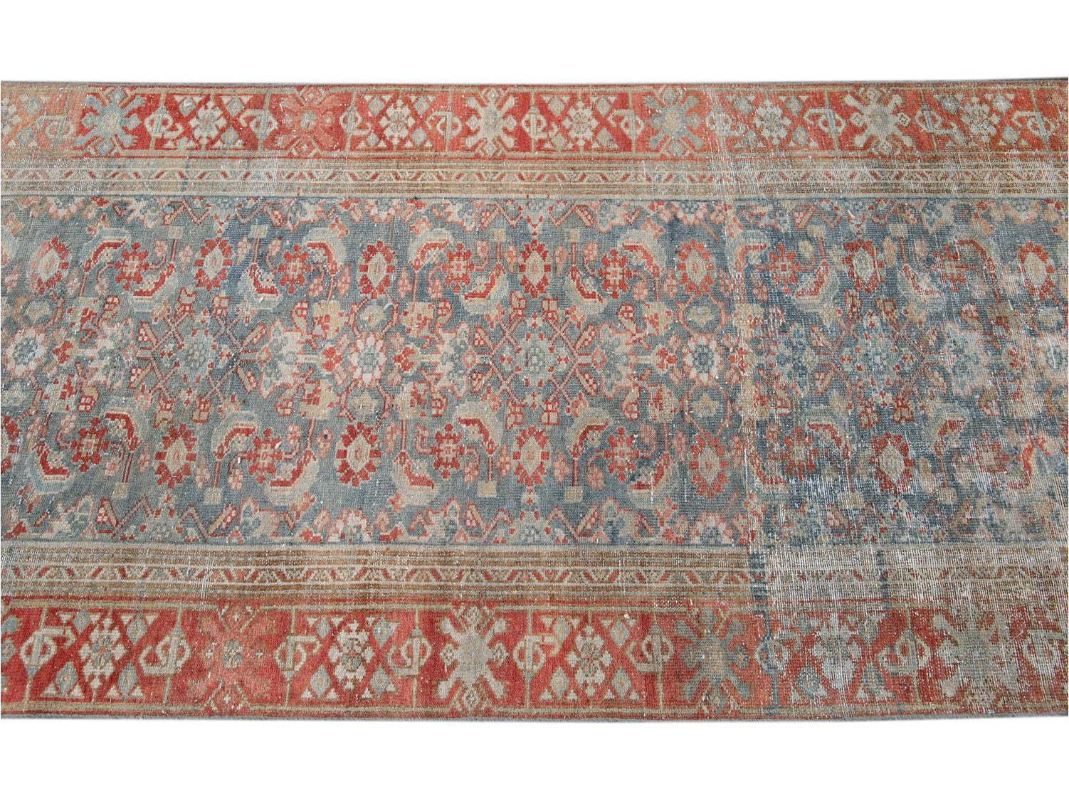 Vintage Malayer Wool Runner 3 X 17