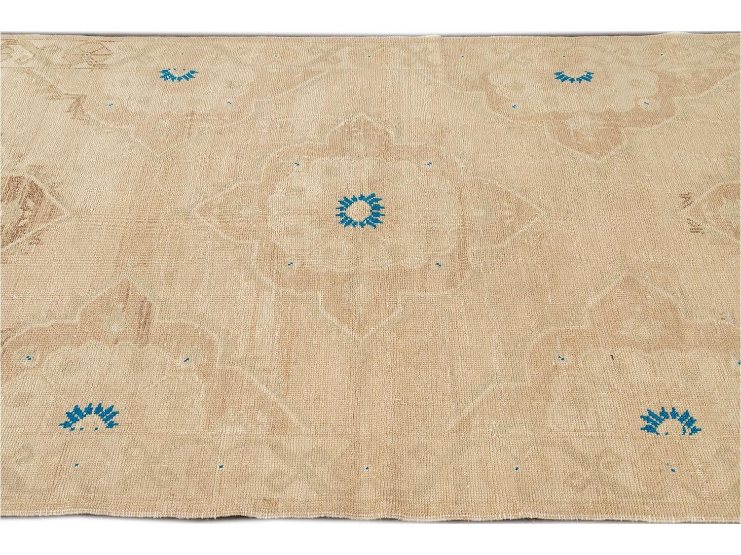 Mid-20th Century Beautiful Turkish Runner Rug, 5 X 11