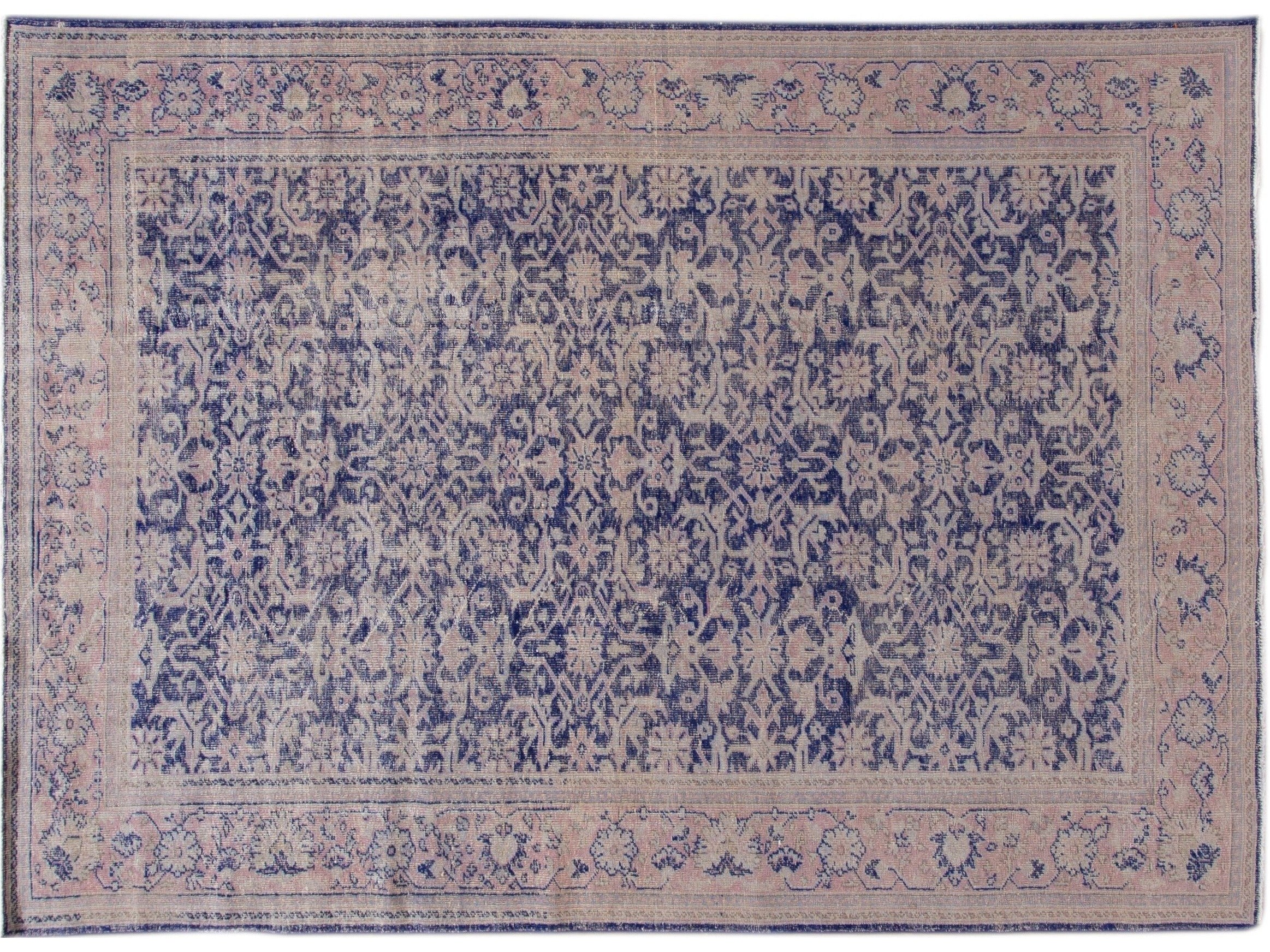 Antique Malayer Wool Rug 7 X 10