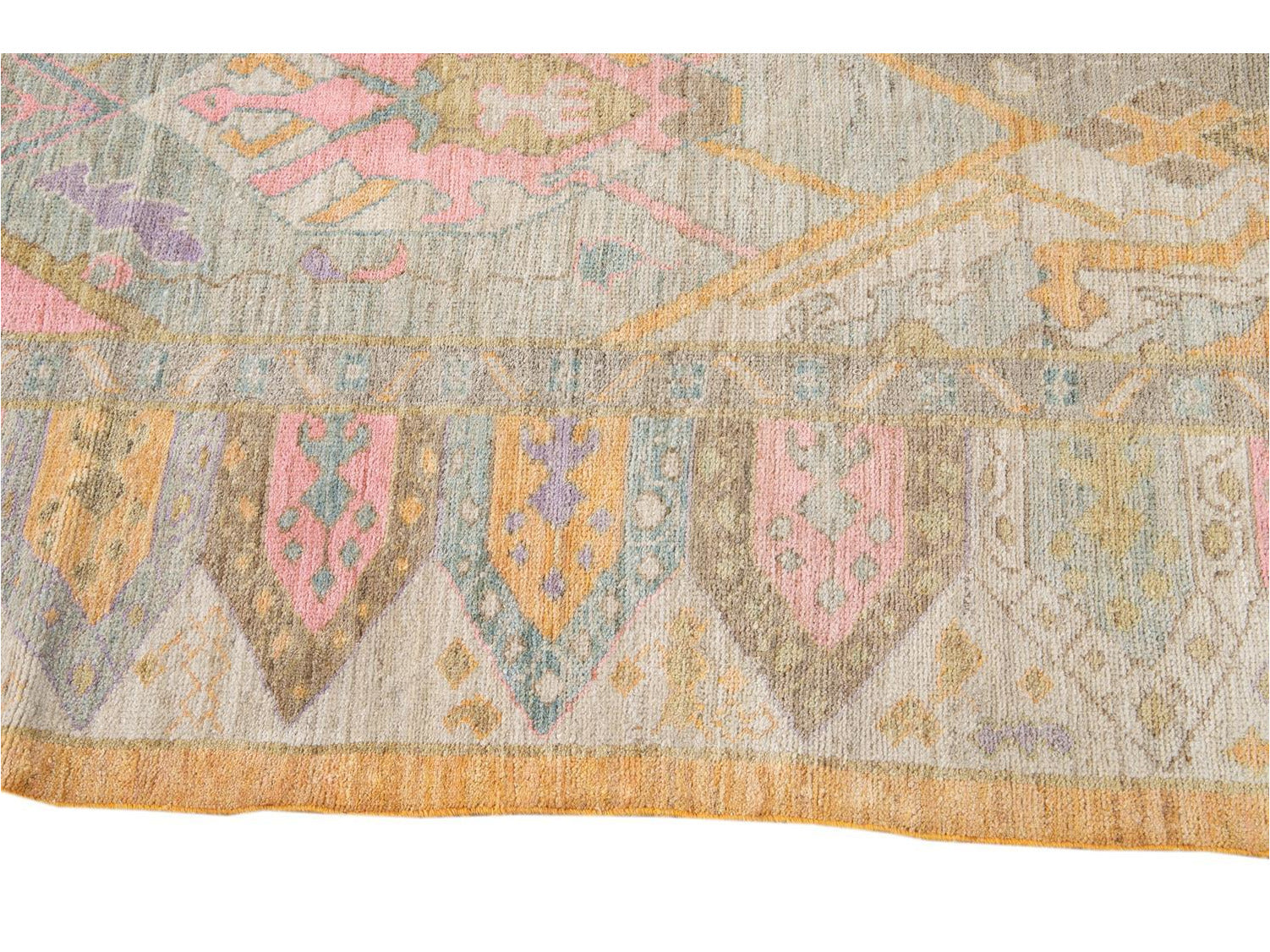 Contemporary Sultanabad Wool Rug 9 X 12