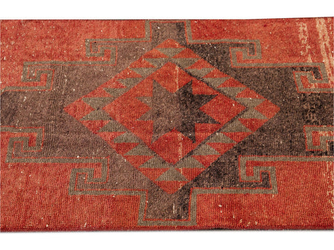 Early 20th Century Antique Anatolian Wool Runner Rug, 3 X 13