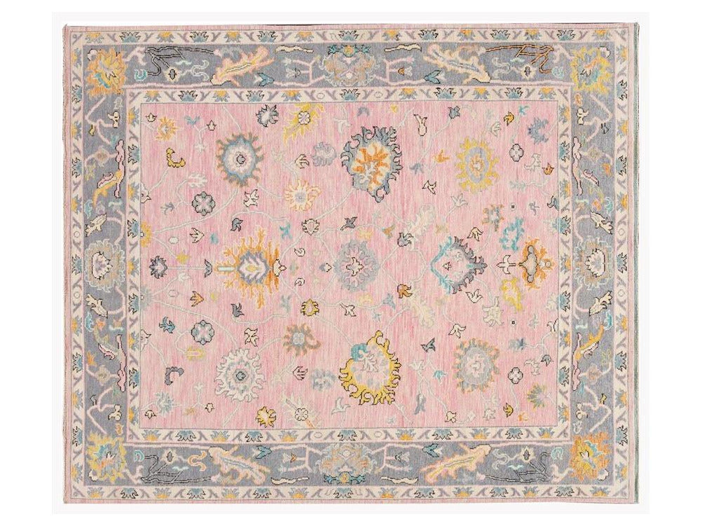 New Contemporary Oushak Style Wool Rug 8 X 10
