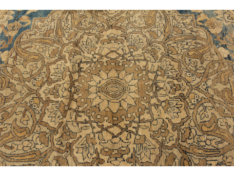 20th Century Antique Tabriz Rug, 9' X 14'